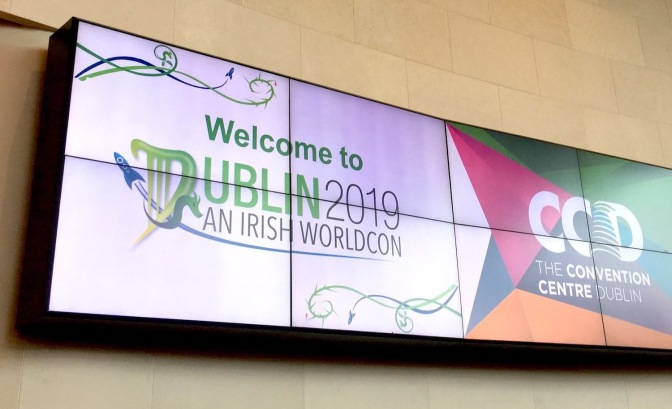 Welcome to Dublin 2019 sign