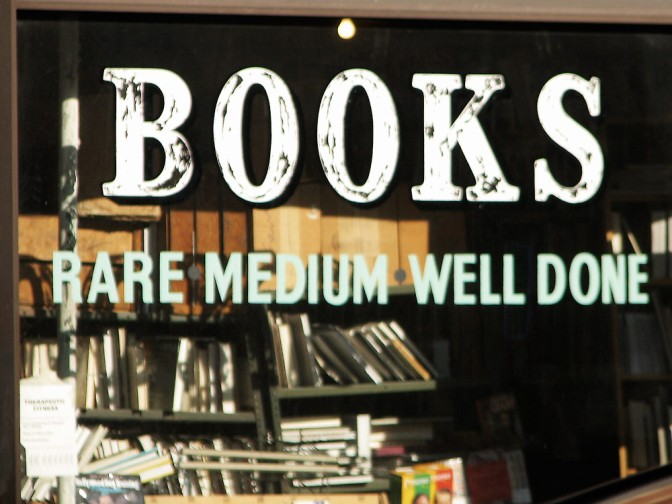 Bookstore Sign Chicago